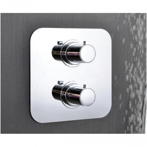 Potinkinė dušo sistema su termostatiniu maišytuvu ALPI Solo