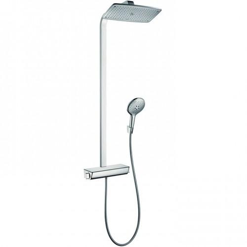 Termostatas su dušo komplektu Hansgrohe Raindance Select Showerpipe 360