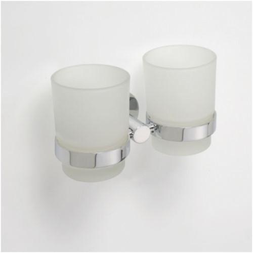 Bemeta Omega laikiklis su dviem stiklinėmis pakabinamas
