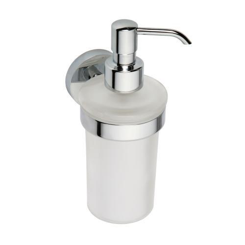 Bemeta Omega pakabinamas dozatorius skystam muilui stiklinis 230 ml