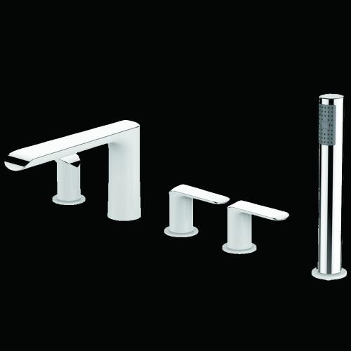 Lux-Aqua Maple 5 dalių maišytuvas voniai