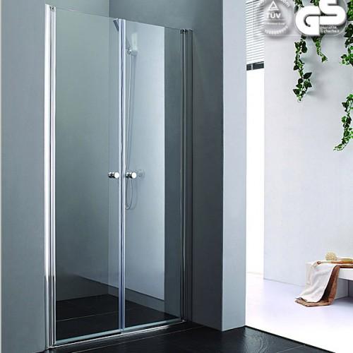 Lux-Aqua PP2D-80 dušo durys į nišą 800*1850 mm