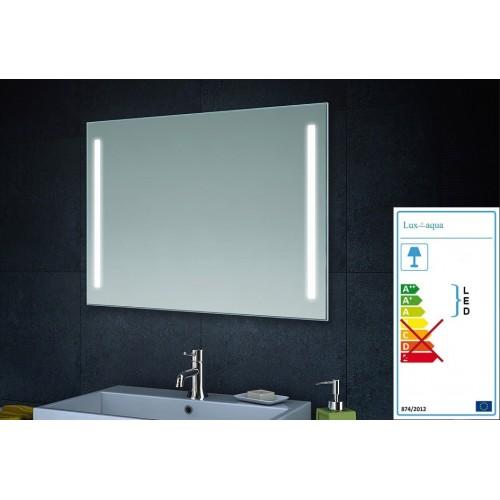 Veidrodis Lux-Aqua LAMT6080 su integruotu LED apšvietimu, 800*600 mm