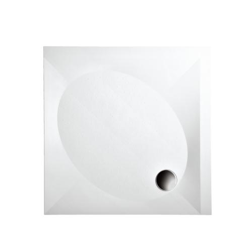 PAA Art KV 1000x1000 kvadratinis akmens masės dušo padėklas
