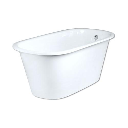 PAA Vario Round akmens masės vonia 1660x750 mm