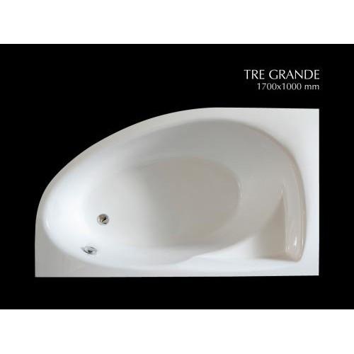 PAA Tre Grande akmens masės vonia 1700x1000 mm