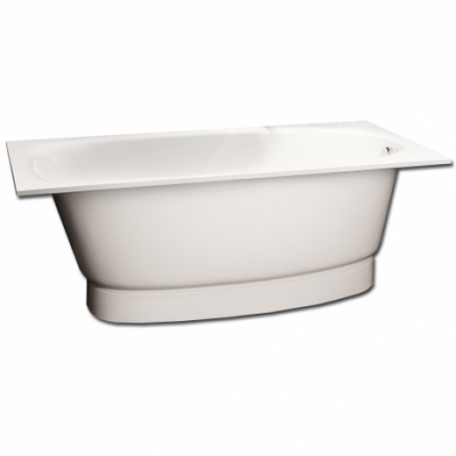 PAA Uno akmens masės vonia 1500x750 mm