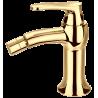 Omnires Art Deco Gold bidė maišytuvas