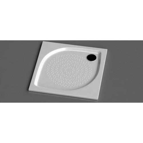 Vispool KK-80 kvadratinis akmens masės dušo padėklas 800*800 mm