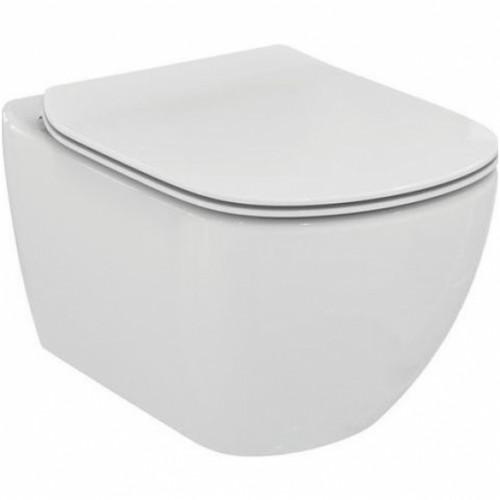 Ideal Standard pakabinamas wc Tesi su AquaBlade® vandens nuleidimo sistema