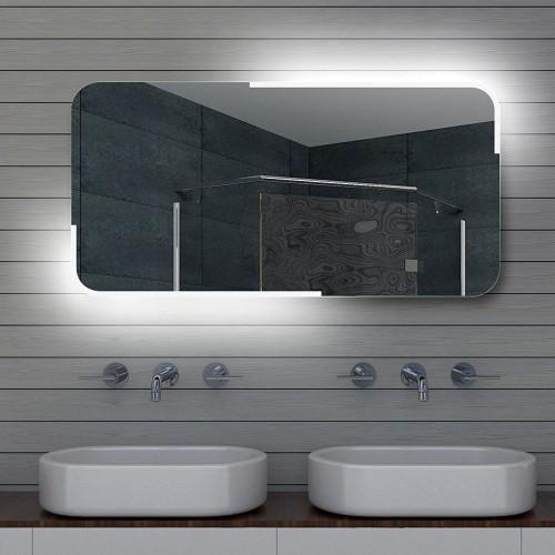 Vonios kambario veidrodis Lux-Aqua ML120, su LED apšvietimu, 1200*600