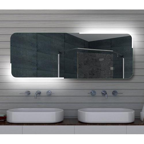 Vonios kambario veidrodis Lux-Aqua ML160, su LED apšvietimu, 1600*600