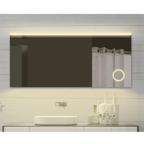 Vonios kambario veidrodis Lux-Aqua SPM142X70DP, su LED apšvietimu, 1420*700 mm