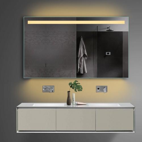 Vonios kambario veidrodis Lux-Aqua TSL120-70, su LED apšvietimu, 1200*700 mm