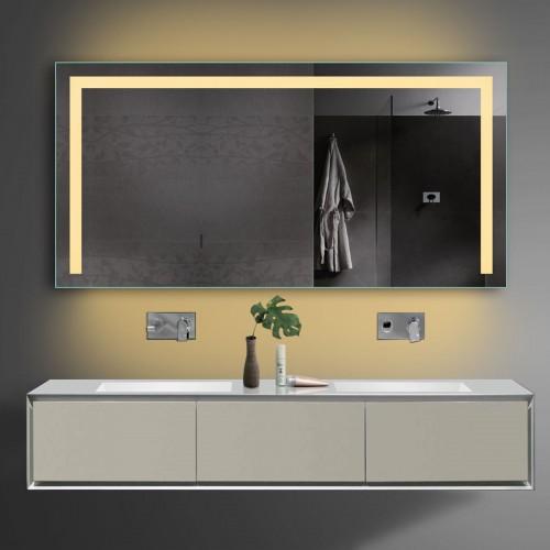 Vonios kambario veidrodis Lux-Aqua TSL140-70, su LED apšvietimu, 1400*700 mm