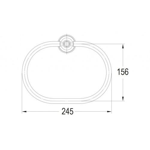 Art Line AL53230 ORB rankšluosčių kabykla