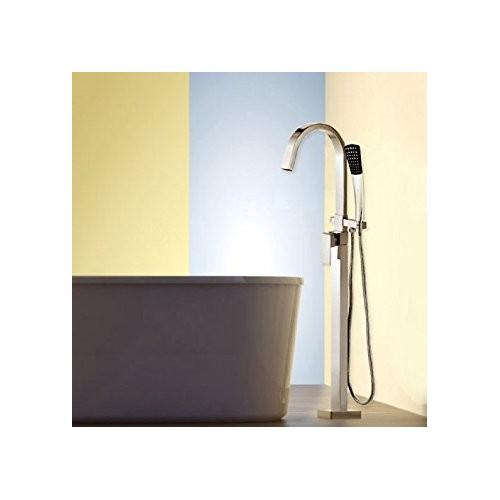 Maišytuvas voniai su dušo komplektu Lux-Aqua VM20001C-1392, montuojamas grindyse
