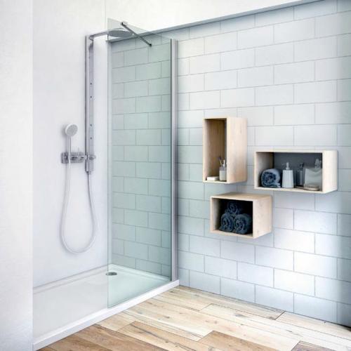 Roltechnik TBS stacionari dušo sienelė, 800 / 900 / 1000 mm
