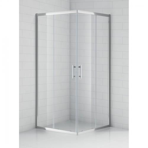 SaniPro OBS2 / 900 kvadratinė dušo kabina su slankiojančiomis durimis