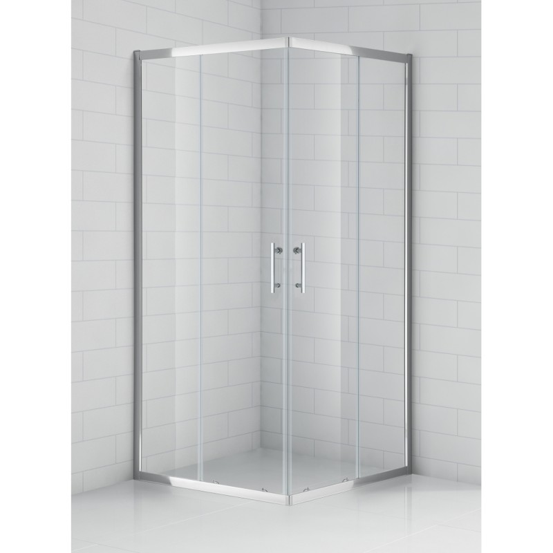 SaniPro OBS2 / 800 pusapvalė dušo kabina su slankiojančiomis durimis