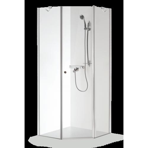 Baltijos Brasta kampinė dušo kabina Lina 1000*1000 mm