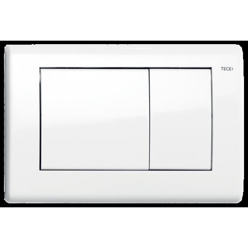 TECEplanus nerūdijančio plieno vandens nuleidimo plokštelė, spalva balta blizganti