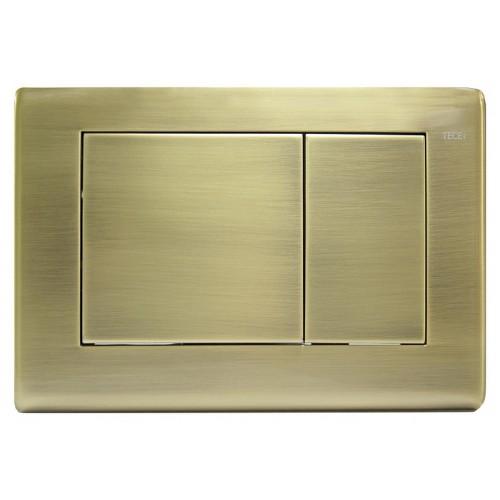 TECEplanus nerūdijančio plieno vandens nuleidimo plokštelė, spalva sendintos bronzos