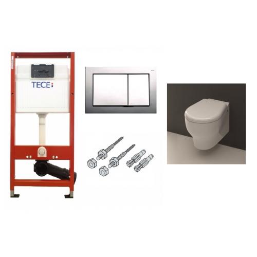 Tece ir Kerasan K09 potinkinis WC komplektas
