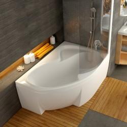 Asimetrinė vonia Ravak Rosa II 1600*1050 mm