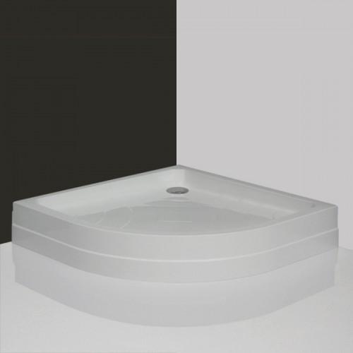Pusapvalis dušo padėklas Roltechnik Hawaii-P 800