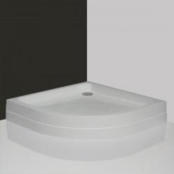 Pusapvalis dušo padėklas Roltechnik Hawaii-P 900