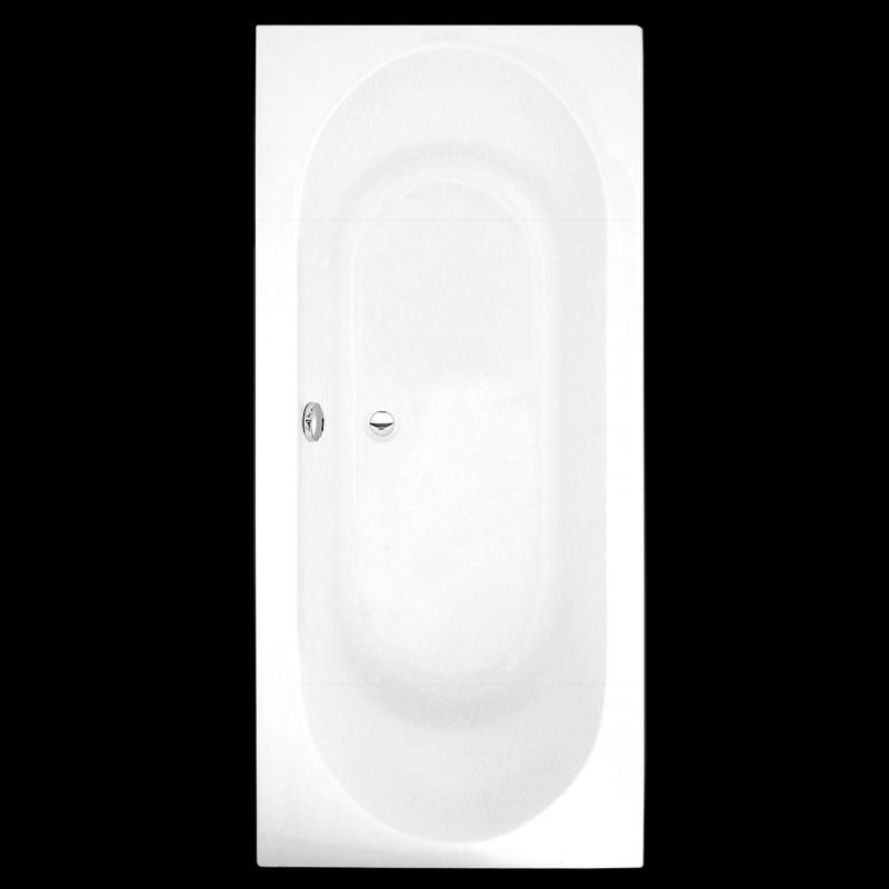 Roltechnik Malibu 180 stačiakampė akrilinė vonia