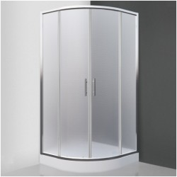 Pusapvalė dušo kabina SaniPro Houston Neo/900