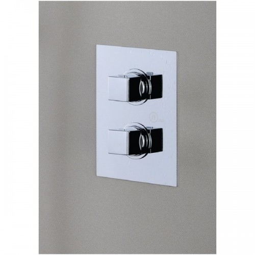 Potinkinė dušo sistema su termostatu ALPI Una SWK181163CR