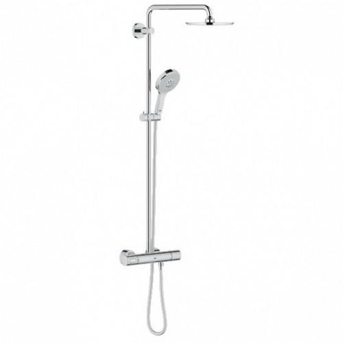 Grohe dušo komplektas su termostatiniu maišytuvu Rainshower System