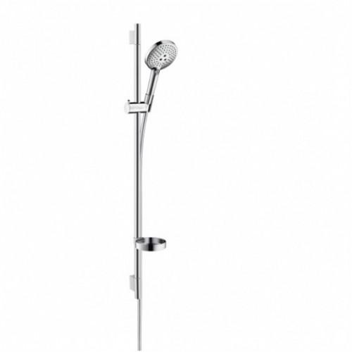 Hansgrohe dušo komplektas Raindance Select E 120 3jet & Unica'S Puro 65 cm