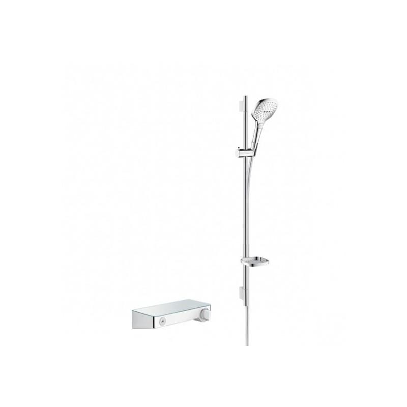Hansgrohe dušo komplektas su termostatiniu maišytuvu Shower Tablet Select 300 Combi 90, 27027000