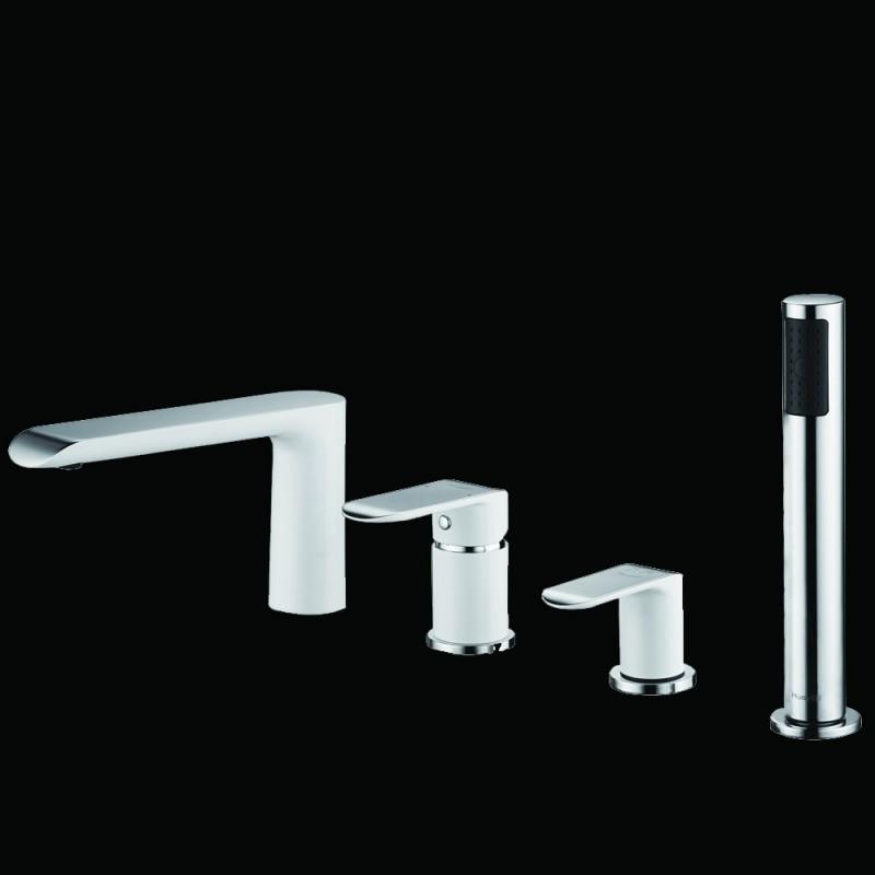 Lux-Aqua Maple 4 dalių maišytuvas voniai