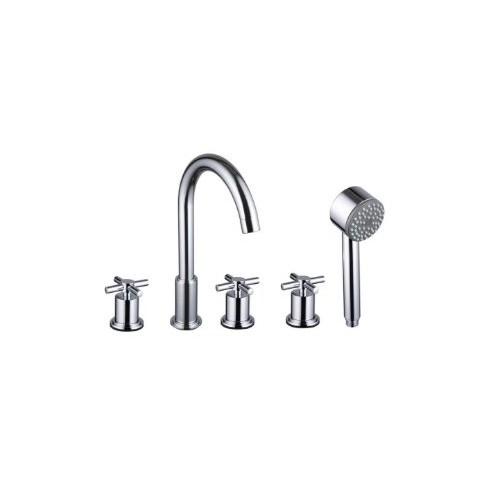 Lux-Aqua Comfort 4 dalių maišytuvas voniai