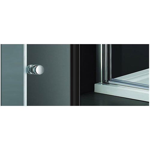 Lux-Aqua EBF1-80 dušo durys į nišą 800*1900 mm