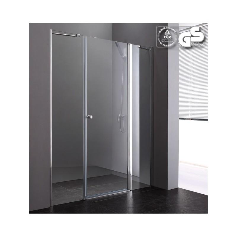 Lux-Aqua PP2D-90 dušo durys į nišą 900*1850 mm