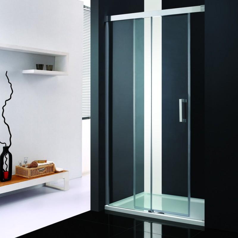 Lux-Aqua MSNP3-120 dušo durys į nišą 1200*1900 mm
