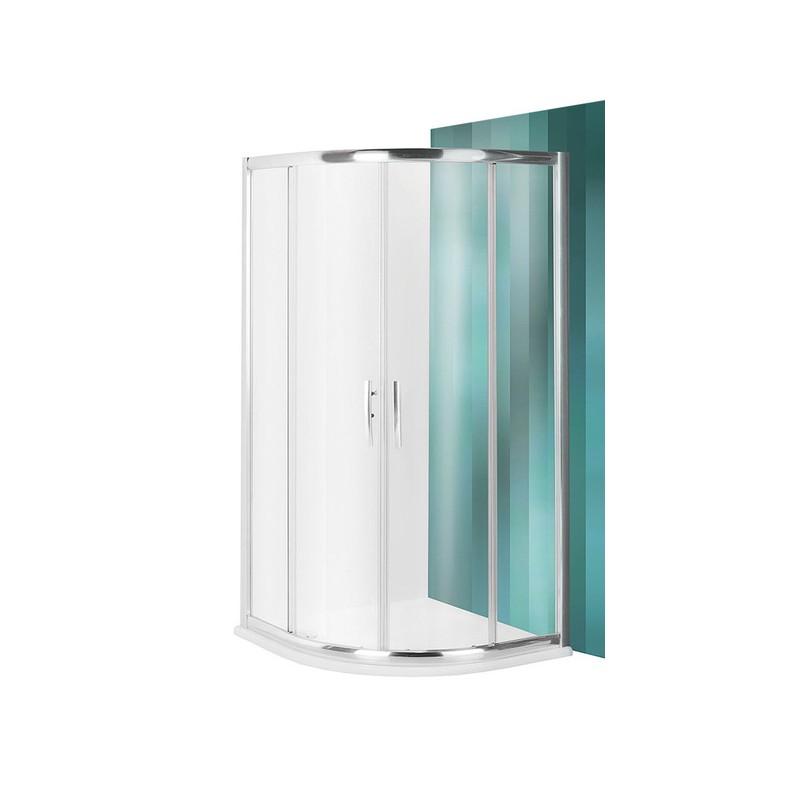 Roltechnik PXR2N pusapvalė dušo kabina su slankiojančiomis durimis