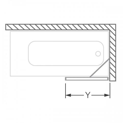 Roth PXV1 stacionari vonios sienelė