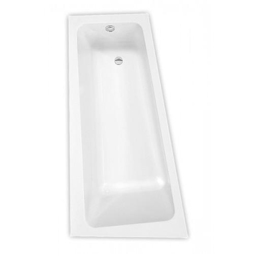 Roltechnik Eva Side 1500*800 mm kampinė asimetrinė akrilinė vonia