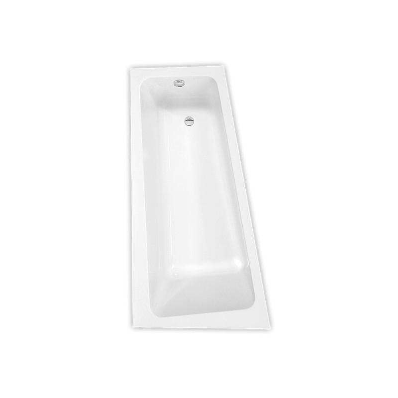 Roth Eva Side 1500*800 mm kampinė asimetrinė akrilinė vonia