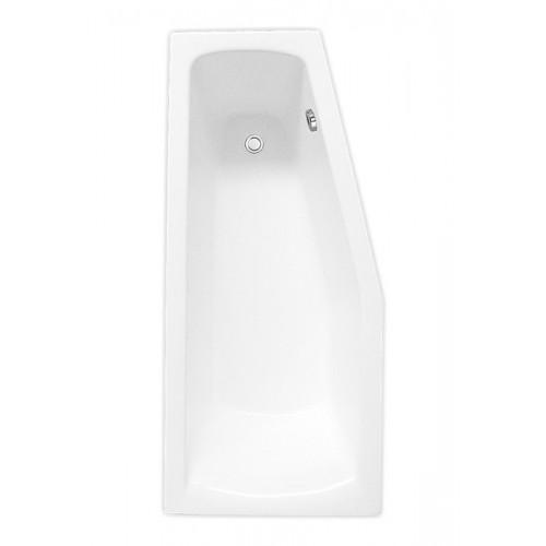 Roltechnik MINI 1600*700 mm, kampinė asimetrinė akrilinė vonia