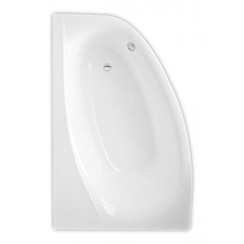 Roltechnik Isabella Neo 170*110 cm, kampinė asimetrinė akrilinė vonia