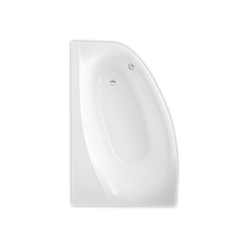 Roltechnik Harmonia 150 / 160*95 cm, kampinė asimetrinė akrilinė vonia