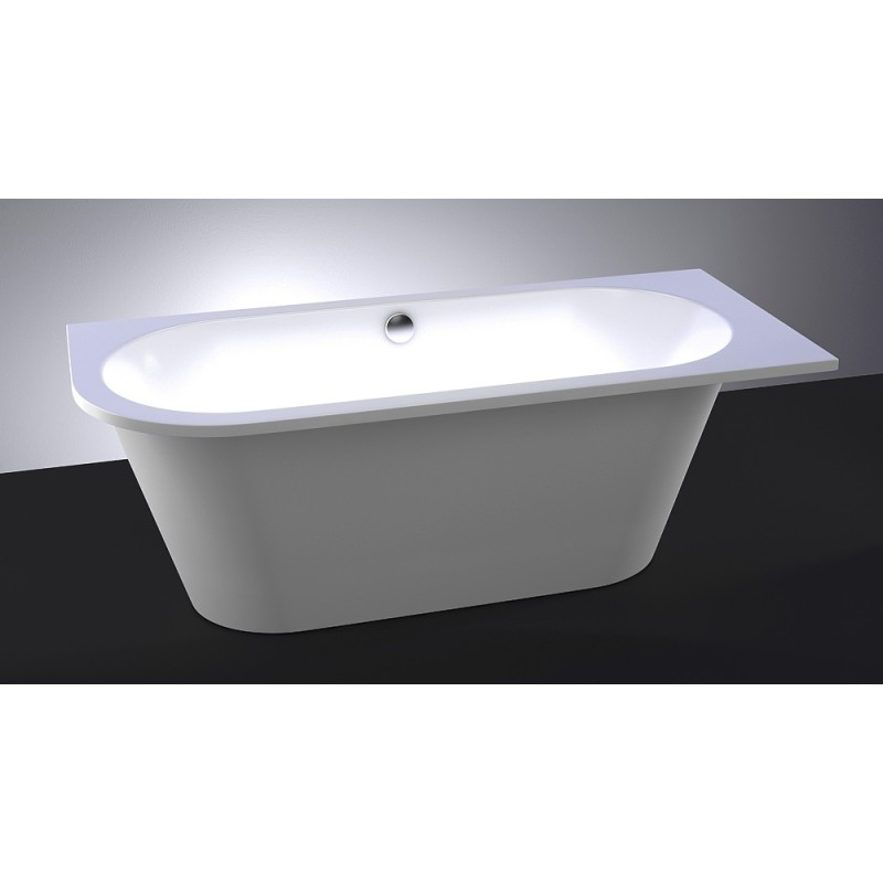 Vispool Evento 3 Left akmens masės vonia 1750*750 mm